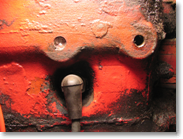 Broken generator mounting bolt