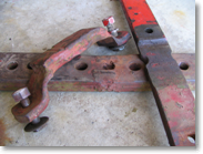 Worn drawbar