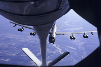 Mid-air refueling
