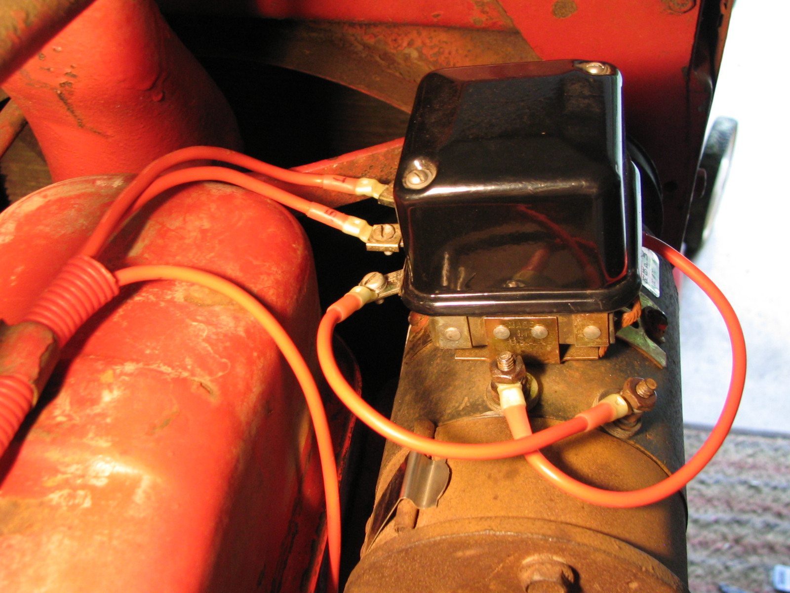 Tractor Voltage Regulator Wiring Daily Update Diagram Ford Alternator Farmall M In The Suburbs