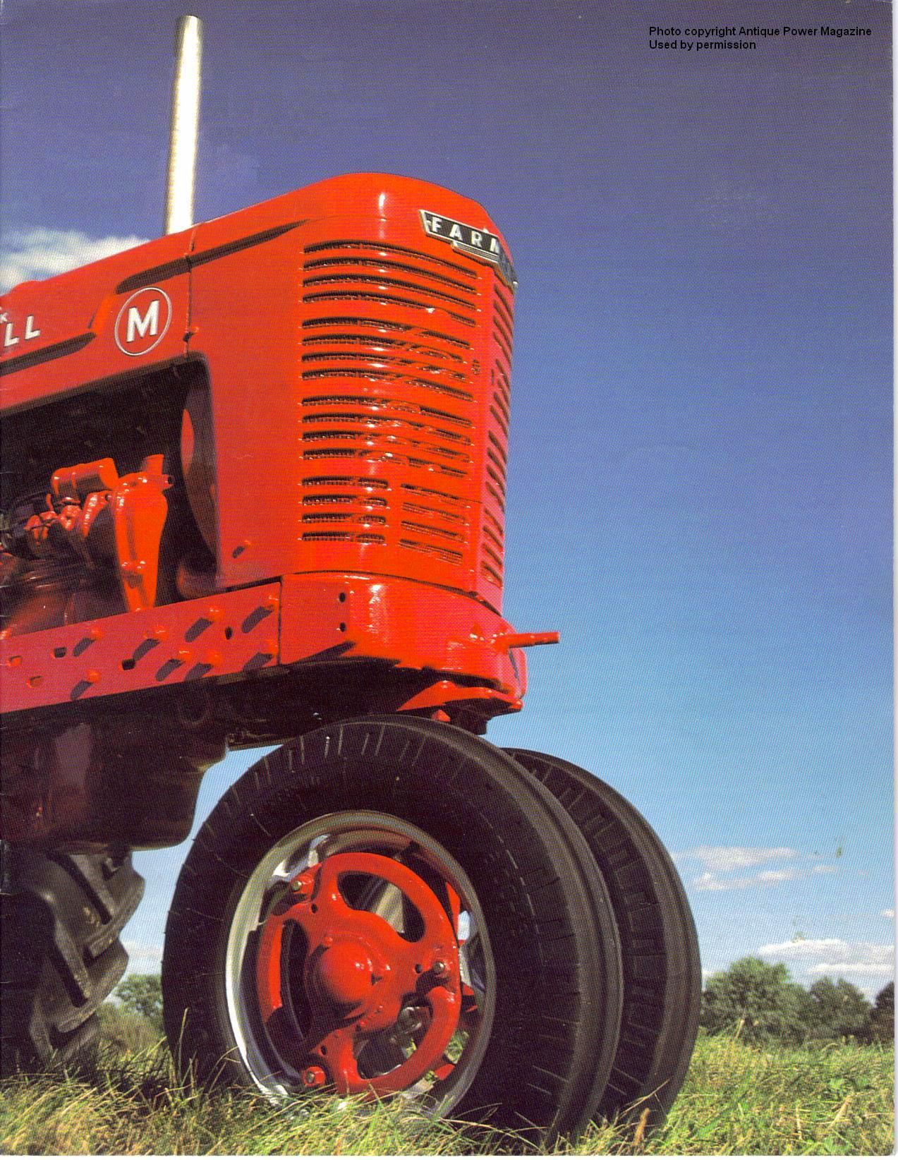 Farmall Ms and Super Ms on
