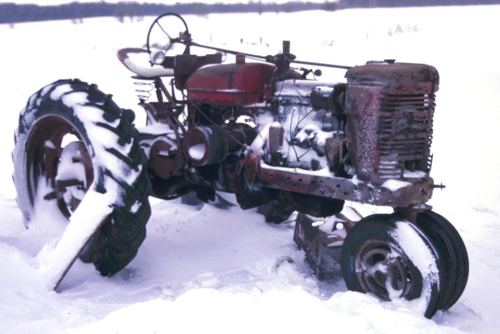 old farmall m