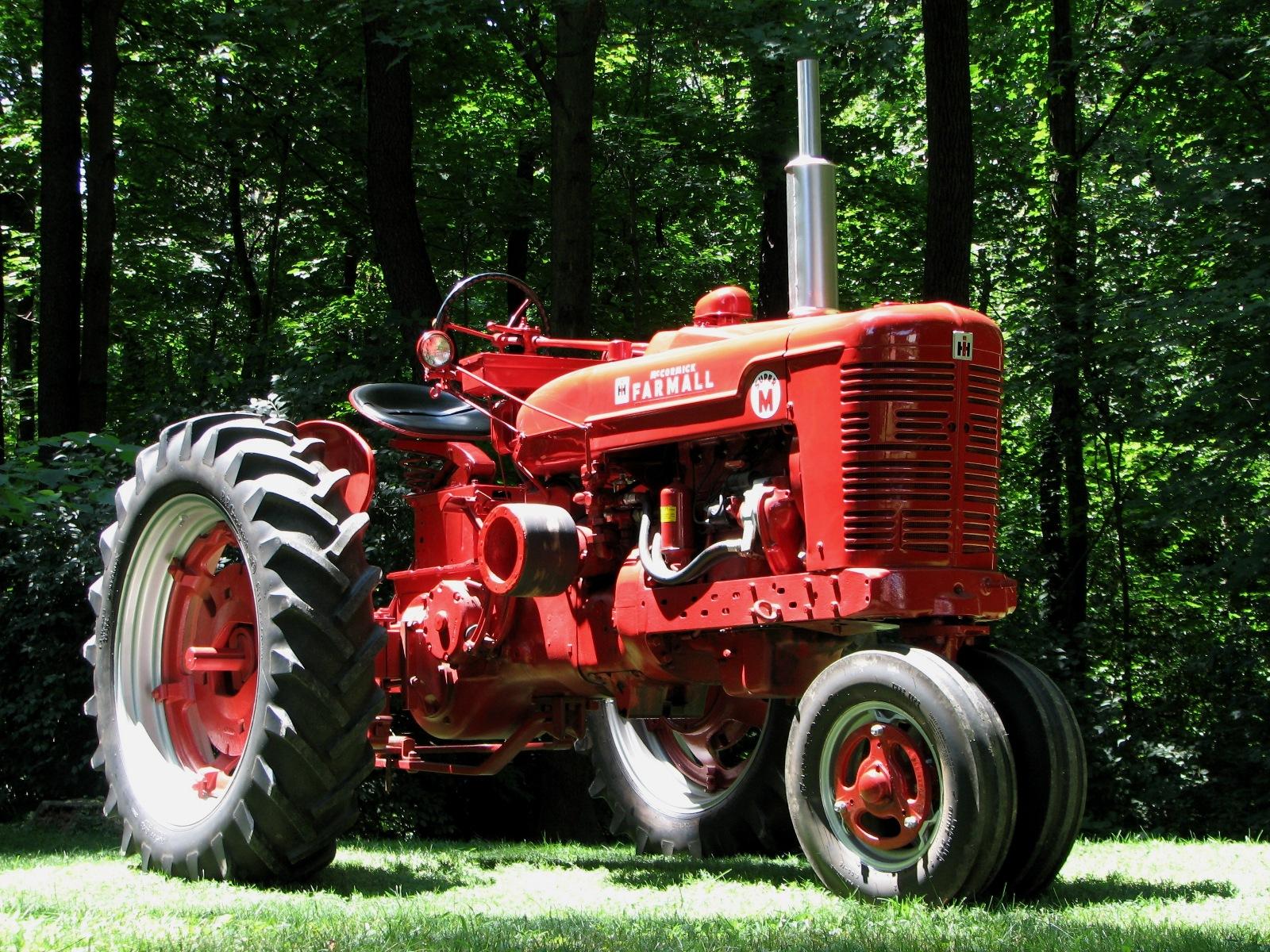 Trust and models of mta farmall m super m until farmall tractors